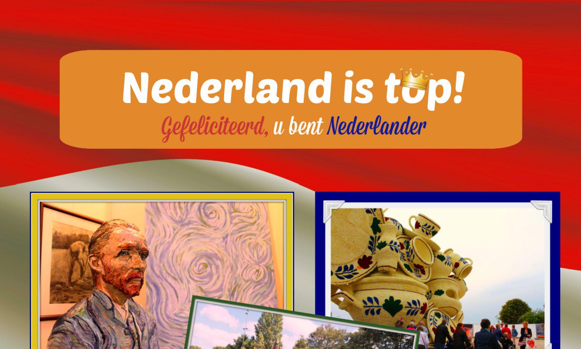 Nederland is top!